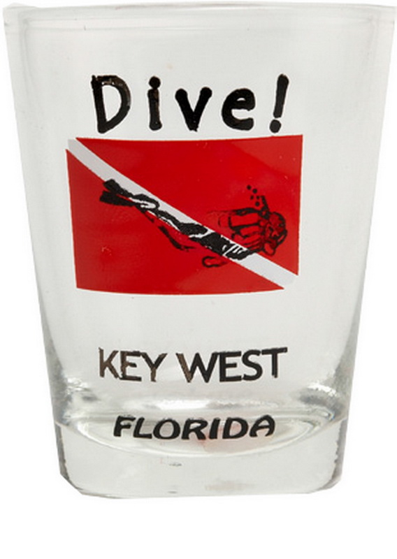 DIVE SIGN KW SHOT GLASS 12PC * UOM: * Minimum Order: 1